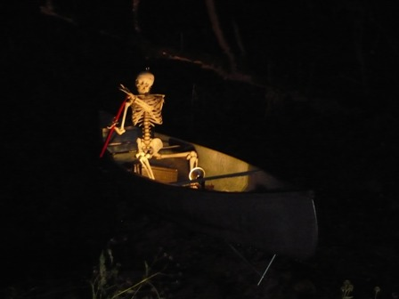 Skeleton Canoe